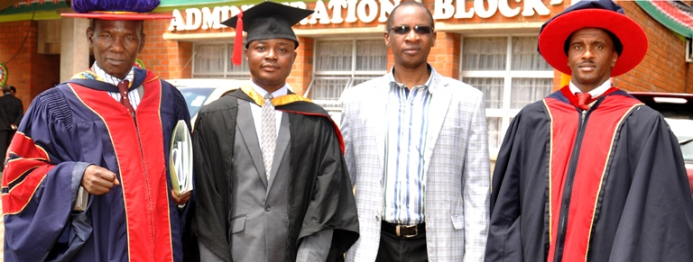 UMaT Student on an Exchange Programme at the Jomo Kenyatta University of Agriculture and Technology (JKUAT) Graduates at the top of His Class