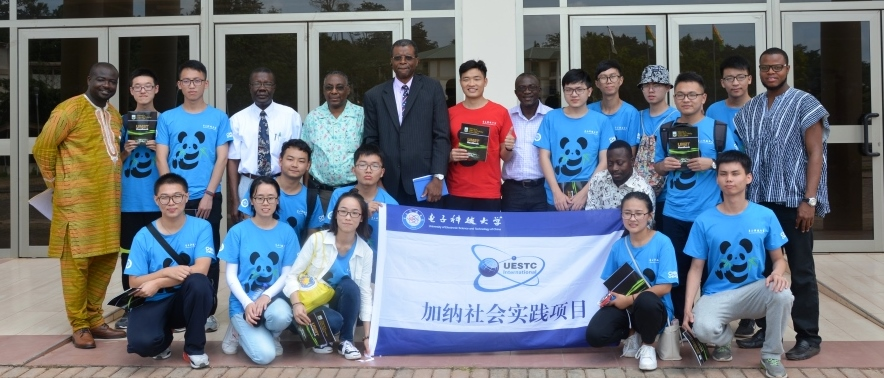 15 Students from the University of Electronic Science and Technology China, Chengdu visit UMaT on an Academic Exchange Programme