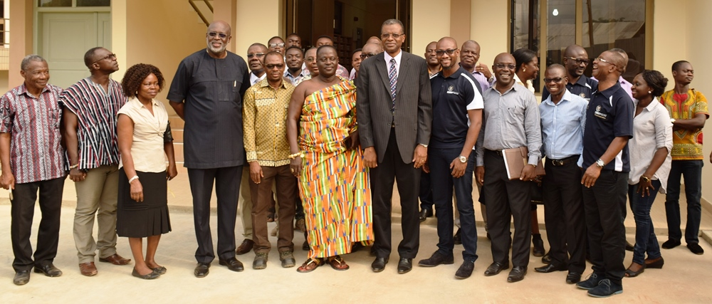 Goldfields Ghana Limited, Tarkwa Mine Donates an Extended Laboratory Building to the Department of Minerals Engineering of UMaT