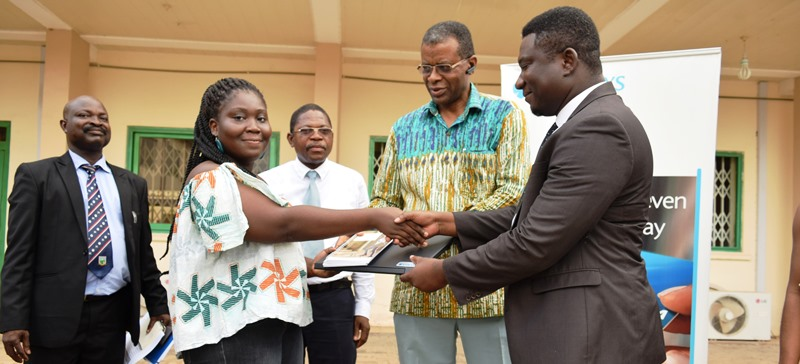 Barclays Bank Ghana Limited Donates 20 Laptops to  UMaT Students on their Scholarship Scheme