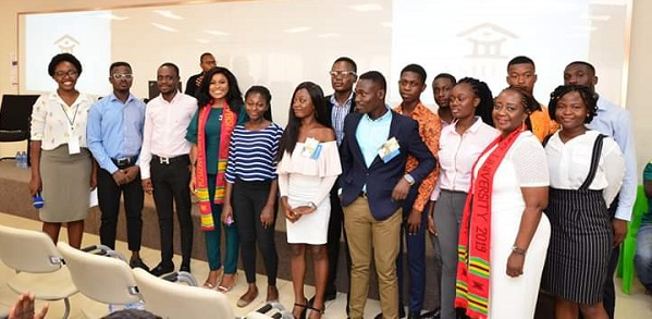 Some Participants in a Group Photograph after the Event