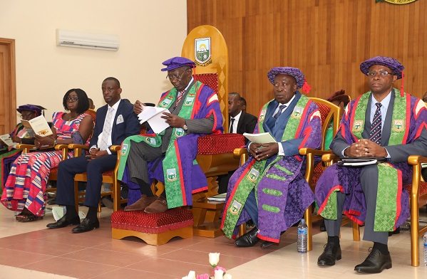 The 11th Congregation Ceremony of the University of Mines and Technology has been held at the University