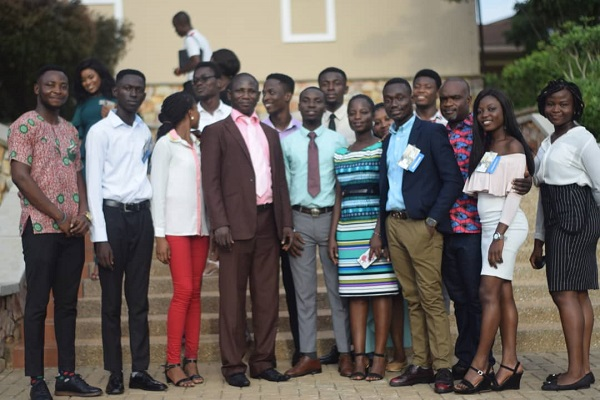 The UMaT Student Participants in a Group Photograph with Some UMaT Staff